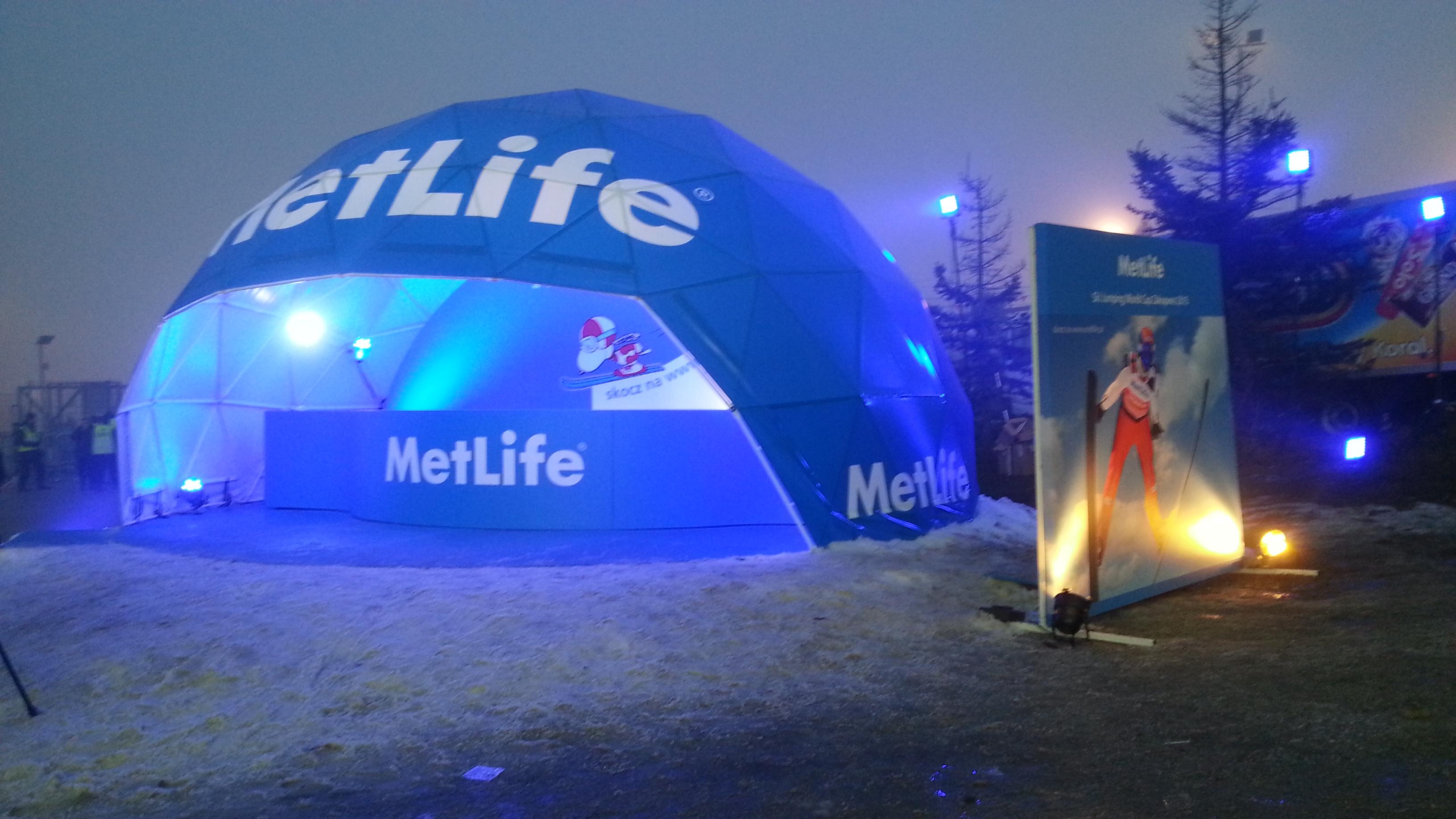 Projekt strefy Metlife na Konkurs Skoków w Zakopanem '15
