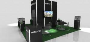 Projekt stoiska targowego dla Citizen Green '11